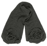 Magaschoni Charcoal Cashmere Scarf