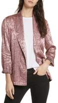 Free People Women's Jacquard Blazer