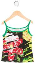 Kenzo Girls' Sleeveless Printed Top