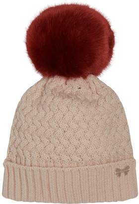 Hucklebones London Faux Fur Pom Pom Hat