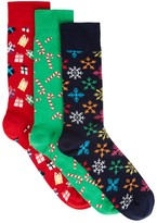 Happy Socks Christmas Socks Gift Set