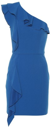 Rebecca Vallance Caspian one-shoulder minidress