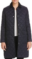 Barbour Border Quilted Long Coat - 100% Bloomingdale's Exclusive