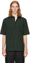 Helmut Lang Green Bar Tab Shirt