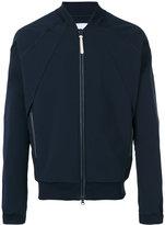 adidas pleated back bomber jacket - men - Cotton/Polyester/Spandex/Elastane - M