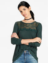 Lucky Brand Lace Mixed Thermal