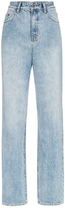 Ksubi playback high-waisted straight leg jeans