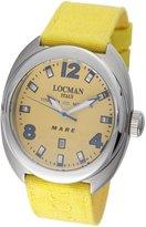 Locman Men's 132YL Mare Collection Titanium Watch