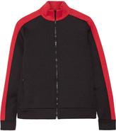Joseph Two-tone Scuba-jersey Jacket - Black