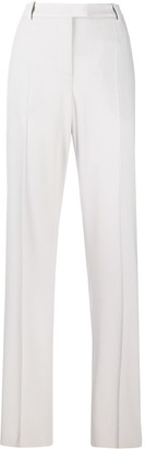 Giorgio Armani High Rise Straight Leg Trousers