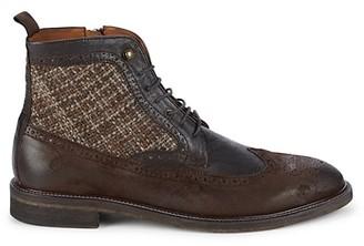 Johnston & Murphy Brewer Wing-Tip Boots