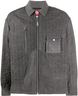 Diesel Zipped Front Shirt