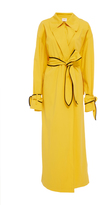 Edun Cotton Gabardine Trench Coat