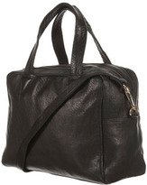 Topshop Boxy Leather Holdall