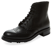 Prada Brogue Wingtip Boot