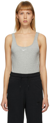 Nike Grey Sportswear Essential Tank Bodysuit