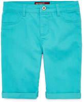 Arizona Denim Bermuda Shorts - Girls 4-16 and Plus