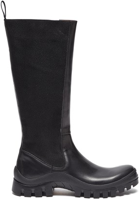 ATP ATELIER 'Bitonto' leather mid calf boots