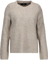 Line Mirabel marled ribbed-knit sweater