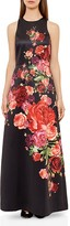 Ted Baker Marico Juxtapose Rose Gown