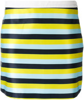 Iceberg striped mini skirt - women - Cotton/Polyester - 38