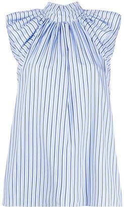 Victoria Victoria Beckham Striped Print Shirt