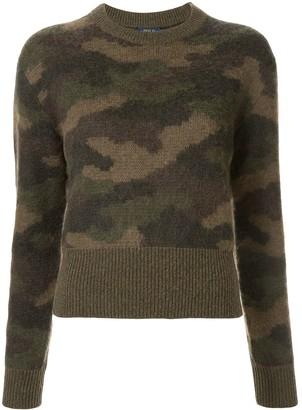 Polo Ralph Lauren camouflage pattern jumper