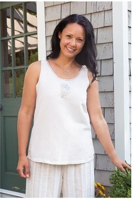 April Cornell Cornflower Linen Camisole