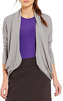 Lucy Enlightening Wrap Micro Stripe Cardigan
