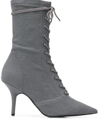 Yeezy Debris sock ankle boots