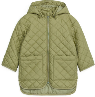 Arket Water-Repellent Quilt Jacket