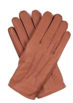 Dents Eton Cashmere-knit Lined Leather Gloves