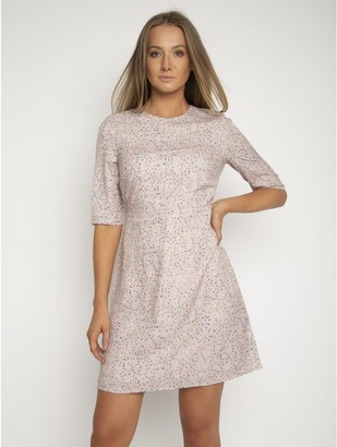 M&Co StylistPick confetti print woven dress