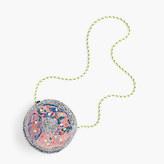 J.Crew Girls' glitter donut bag