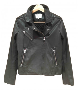 IRO Green Leather Jackets
