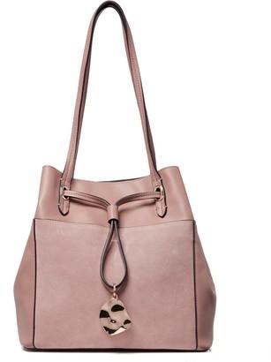 Luella Grey London Ophelia Mink Drawstring Tote Bag