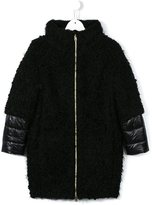 Herno Kids contrast padded coat