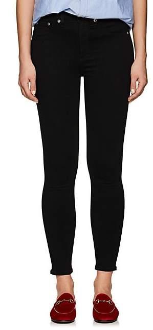 Rag & Bone Women's High Rise Ankle Skinny Jeans - Black