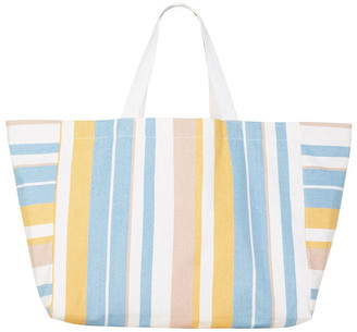 Seafolly Carried Away Stripe Slouchy Tote