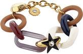 Sonia Rykiel Multi Resin & Metal Chain Bracelet