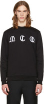 McQ by Alexander McQueen Black Clean Logo Pullover
