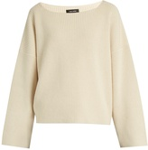 Isabel Marant Fly scoop-neck cotton and wool-blend sweater