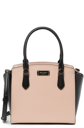 Kate Spade Two-Tone Small Leather Satchel