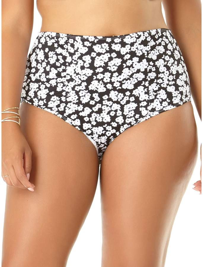 Anne Cole Plus Itsy Bitsy Ditsy Floral Bikini Bottom