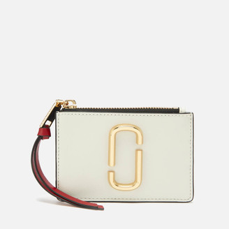 Marc Jacobs Women's Top Zip Multi Wallet - Coconut Multi
