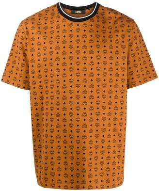 MCM repeat logo T-shirt