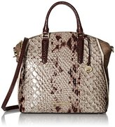 Brahmin Large Duxbury Satchel Top-Handle Bag