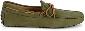 Tod's Suede Boat Driving Loafers