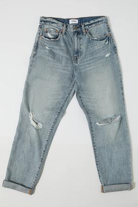 Pistola Denim Presley High-Waisted Straight Leg Jean Surrey
