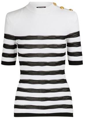 Balmain Striped top
